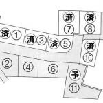 全11区画分譲中の2区画です♪ 黒田小学校まで約500m。 眺めよし、日当たりよしの立地です。7
